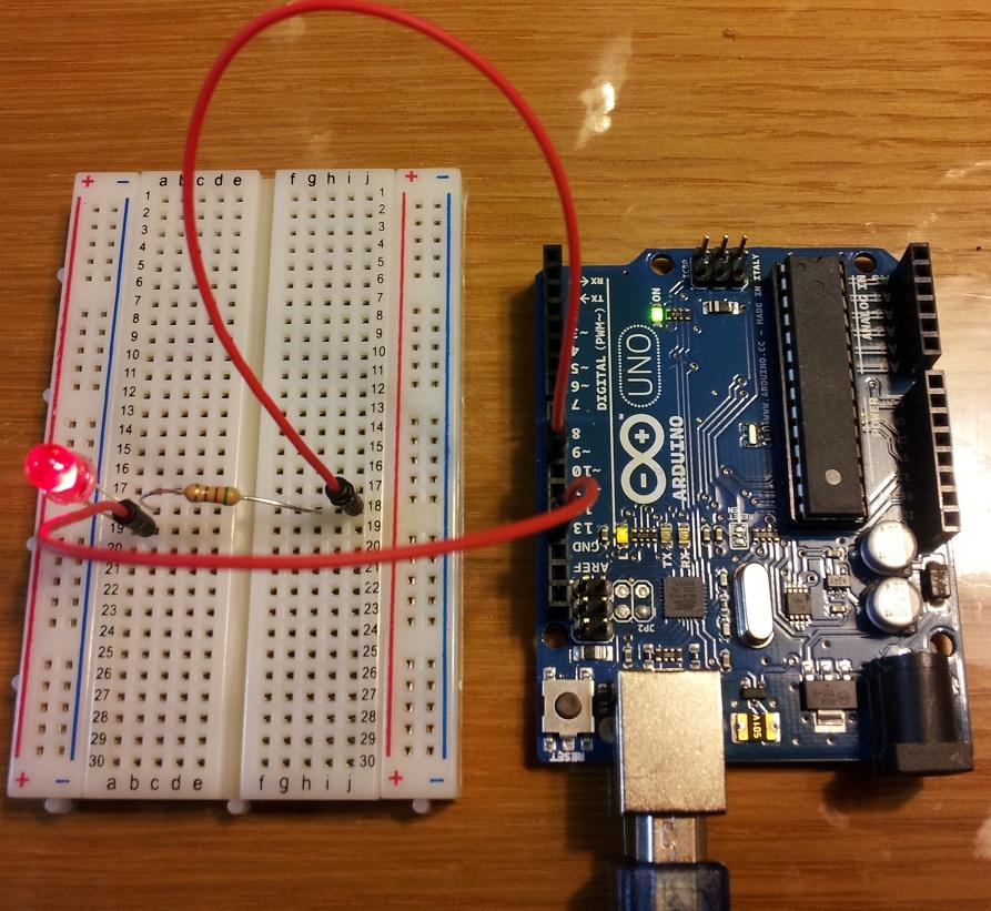 Arduino簡単な回路