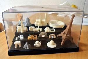 5万円の家庭用3Dプリンターで造られた造形物