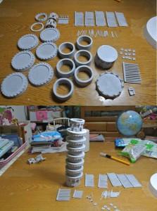 パーソナル3Dプリンターで造られた造形物