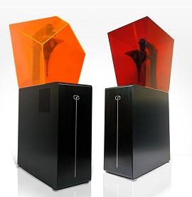 光造形方式の3Dプリンタ